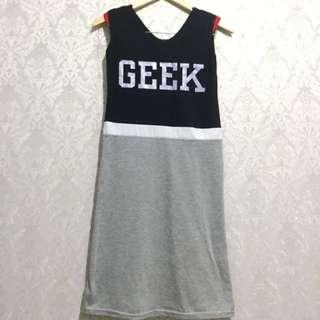 Sporty Dress - Gaun Kaos Santai Casual