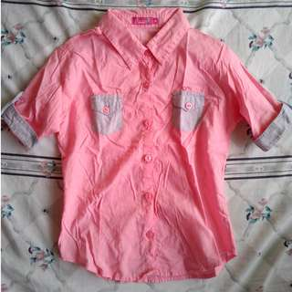 Button down Polo for Kids