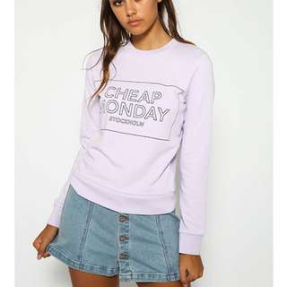 Lilac Cheap Monday Jumper