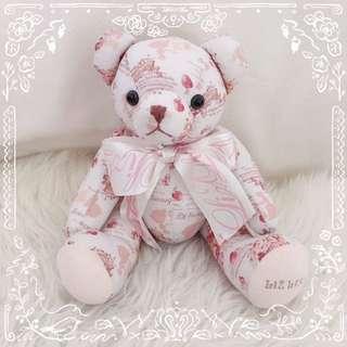 ୨୧⑅* Authentic Liz Lisa Novelty Teddy Bear from Japan ୨୧⑅*