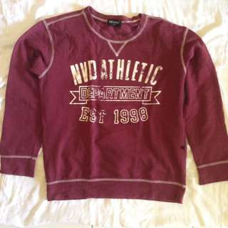Maroon Sweater by Nevada
