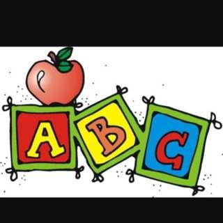 Preschool 1 To 1 Coaching (Reading And Writing)