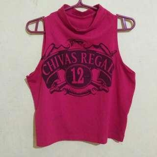 Chivas Regal Crop Top