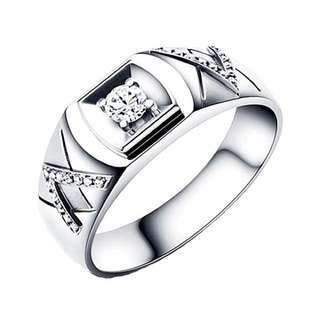 925 Genuine Silver Engagement Ring P35 - The Greatness
