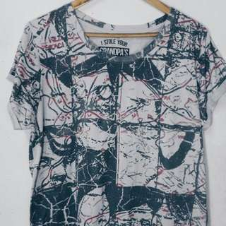Artwork Long Tee