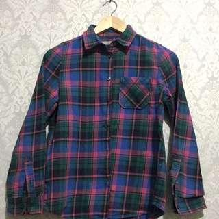 Kemeja Flanel Kotak - Flanel Casual Shirt