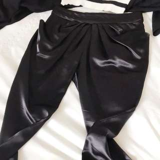 🚚 Mara Hoffman絲綢薄長褲