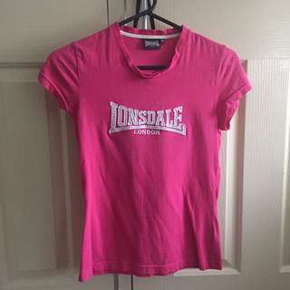 Lonsdale Pink Top