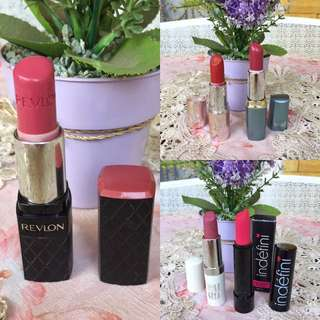 Take All ❣️ 5pcs Lipstick