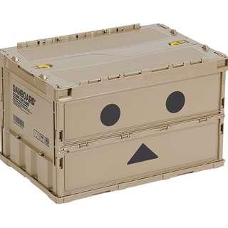 🚚 【台灣現貨】日本限定 TRUSCO 紙盒人 阿愣  薄型折疊式收納箱 日本製