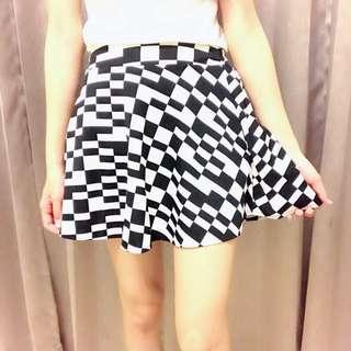 幾何圖形短裙