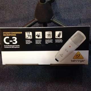 Behringer C3 Studio Condenser Mic