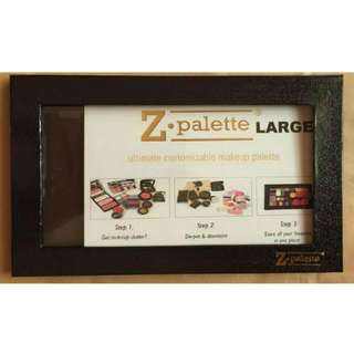 Z Palette SIZE EXTRA LARGE BRAND NEW BLACK Stickers Included