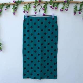 Forever21 Polka Dots Skirt