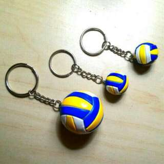 BN Volleyball keychain