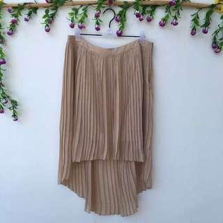 Forever21 Nude Skirt