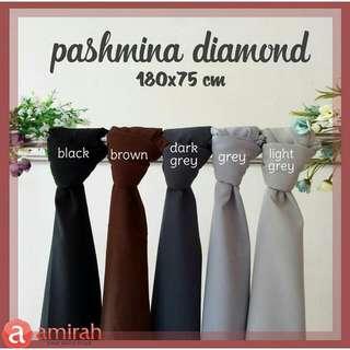 Pashmina Diamond Crepe