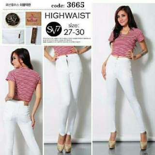 Haigh West Jeans White