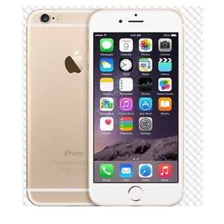 "Apple iPhone 6 16GB 64GB 128GB GSM""Factory Unlocked""Smartphone Gold"