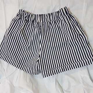 Stripe Black Jogger