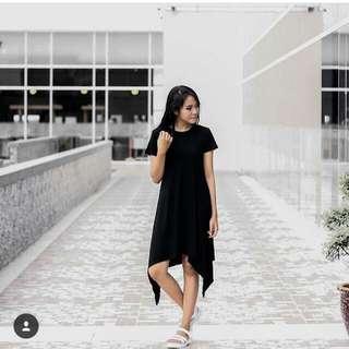 Preloved Cotton Ink Dress