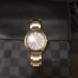 Armani Exchange Gold Watch