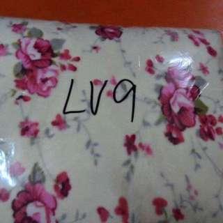 Floral Design Fleece Blanket