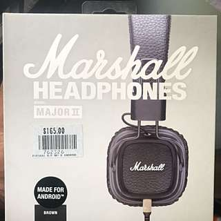Marshall Headphones With Volume Control