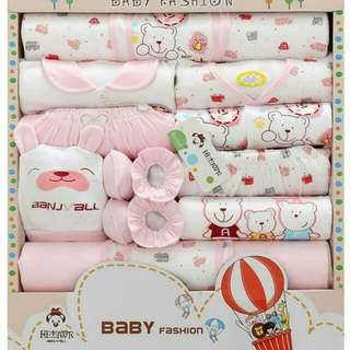 16-in-1 Baby Cloth Set