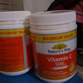 Nature's Way VitaminC from Australian Nature's Way 維他命C 購自澳洲