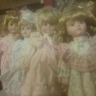 4 Dolls Rare