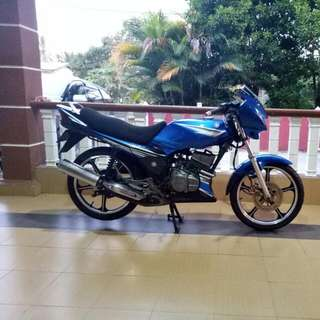 Yamaha RXZ BOSS 6 SPEED. Upgrade catalyte