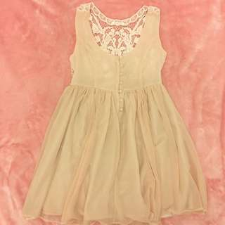 Sweet Back Lace Dress