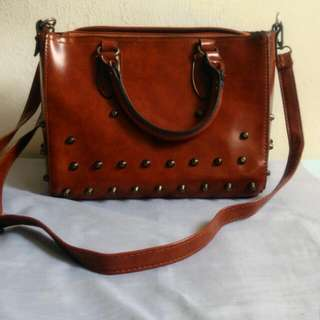 Brown Sling Bag #JomBundleLah