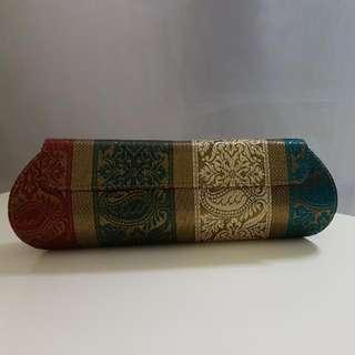 印度民族風金線織錦手拎包 Elegant Clutch