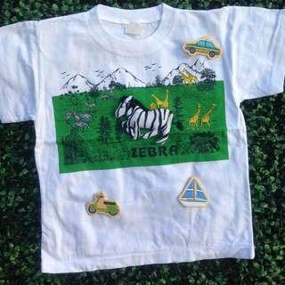UNBRANDED (Zebra) Tshirt