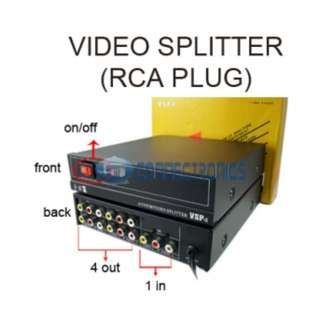 Audio & Video Splitter VSP4