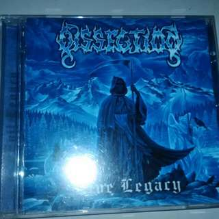 """Dissection """"live legacy"""" cd"""