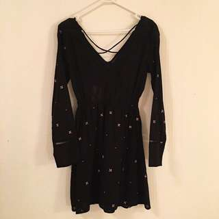 Cotton On Embroidered Dress NWT