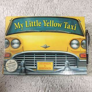 My Little Yellow Taxi by Stephen T. Johnson