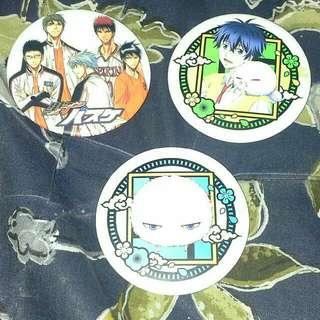 Anime Badges #freepostage