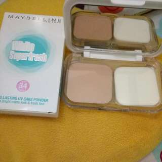 (New) Maybelline Powder 03 Natural