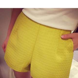 Yellow Shorts For Sale