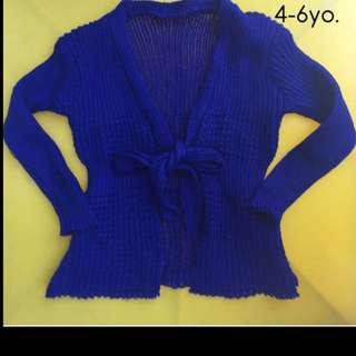 preloved jacket sweater for girks toddlers kids