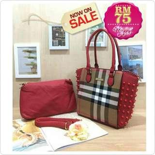Handbag Bag set