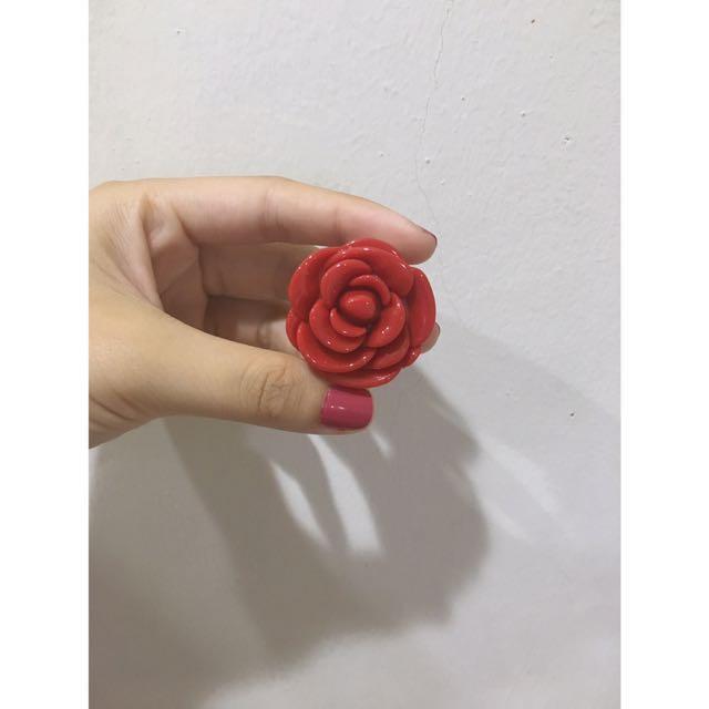 3ce 玫瑰護唇膏