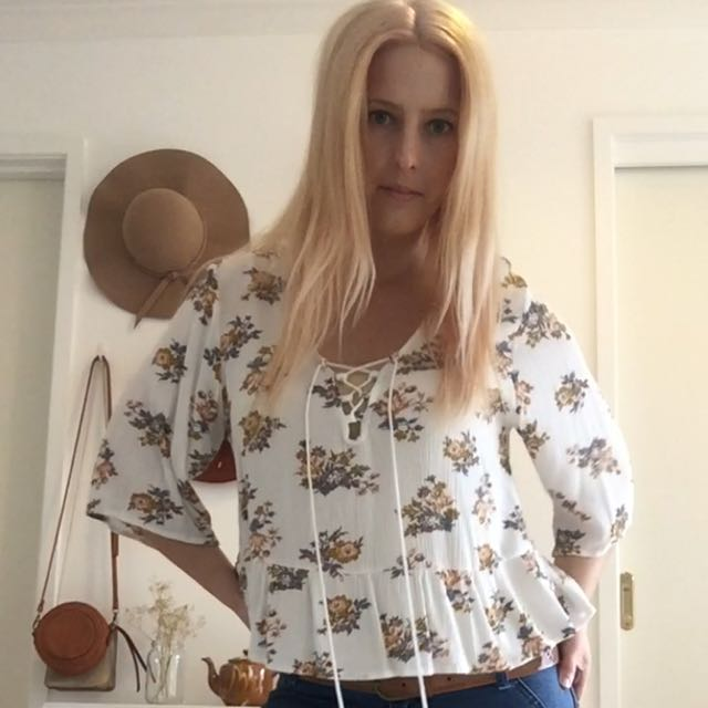 70s Style Top