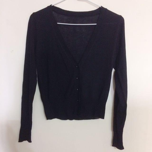 韓國防曬針織薄外套 #三百元外套