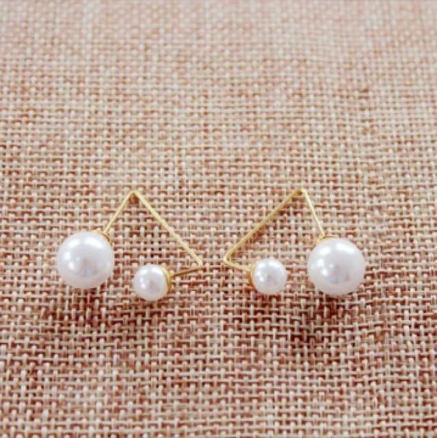 珍珠氣質耳環