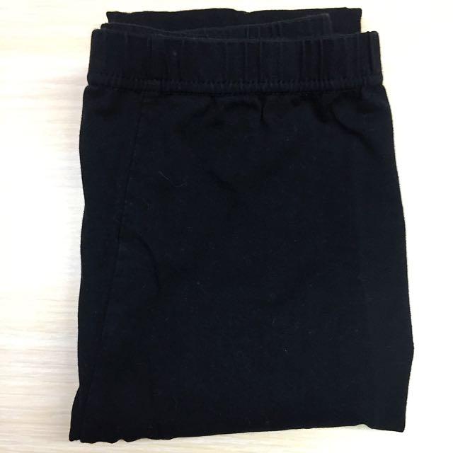 黑色打底褲